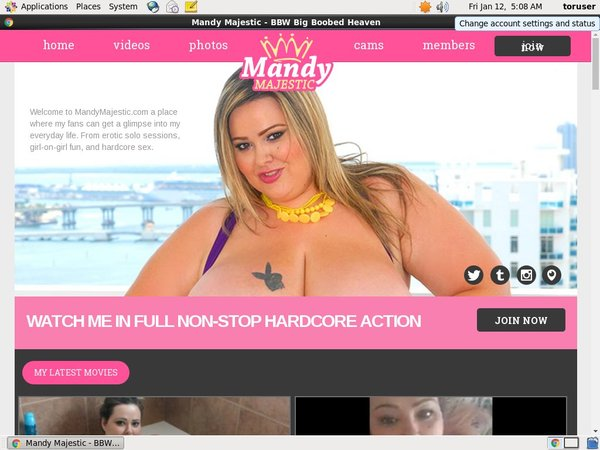 Acc For Mandy Majestic