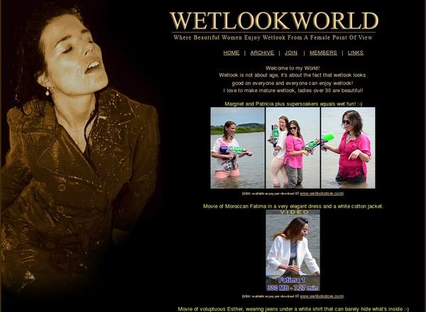Accounts For WetLook World