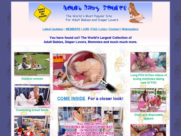 Adultbabysource.com Account Premium Free