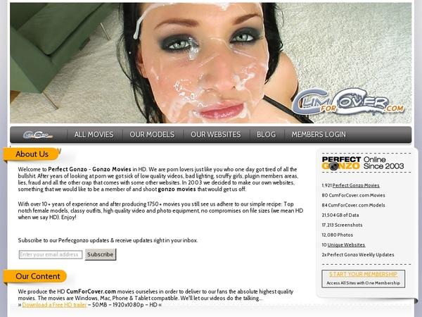 Cumforcover.com Payment