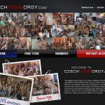Czech Home Orgy Babes