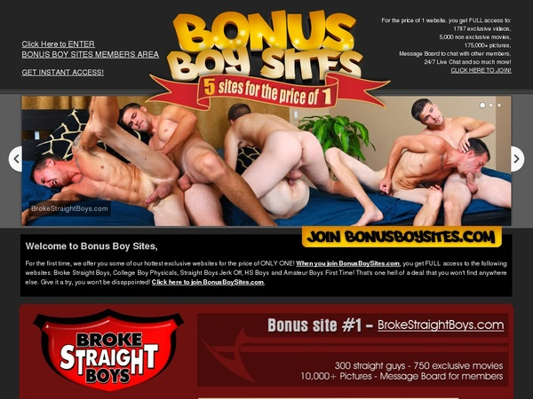 Discount For Bonusboysites.com