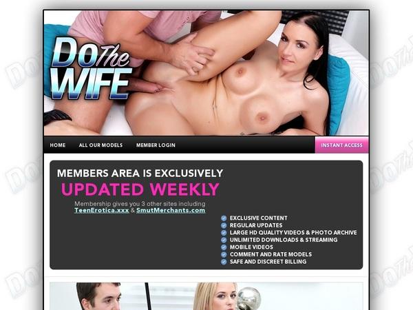 Dothewife.com Contraseña Gratis