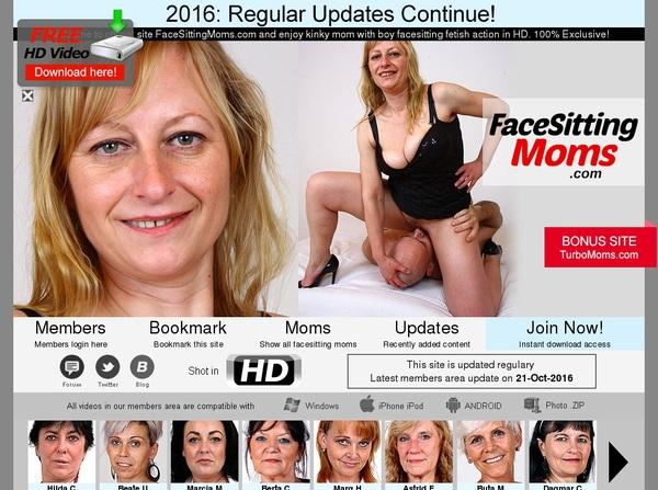 Facesittingmoms.com Password Accounts