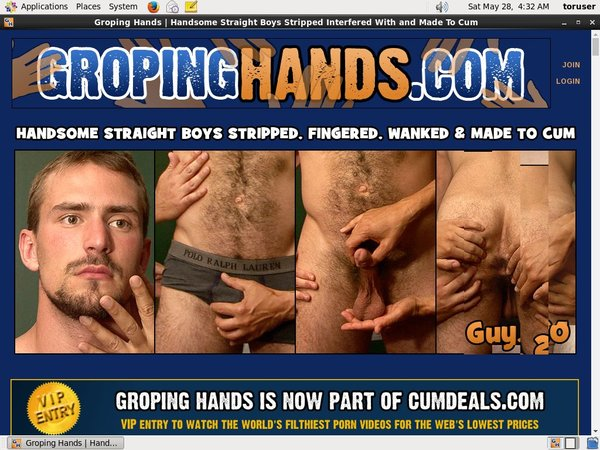 Groping Hands Mobile Pass