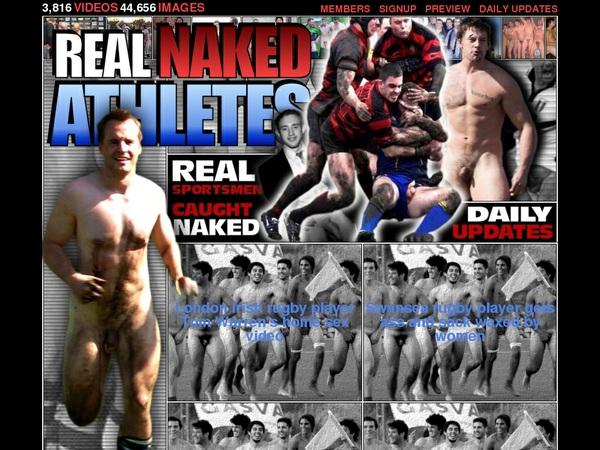 Real Naked Athletes Rocketpay
