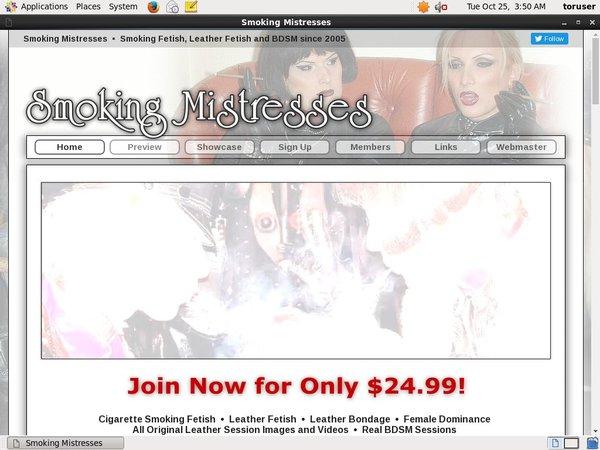 Smoking Mistresses Free Membership