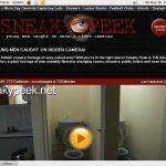 Sneaky Peek Official