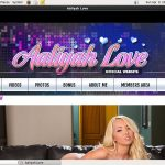 Working Aaliyahlove Pass