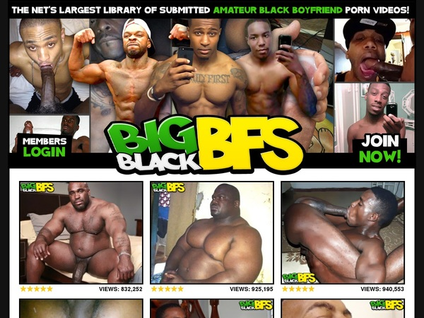 Working Bigblackbfs Account