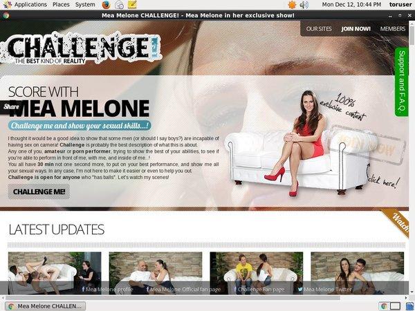 Melonechallenge.com Password Blog