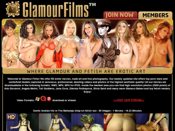 Glamour Films Join Via Paypal