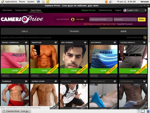 CameraPrive Gay Webcams Updates