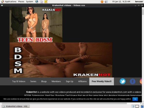 Krakenhot.com Daily Pass