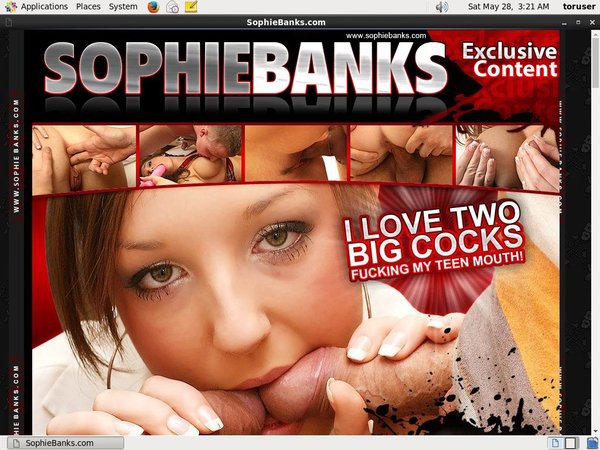 Sophiebanks.com Using Paypal