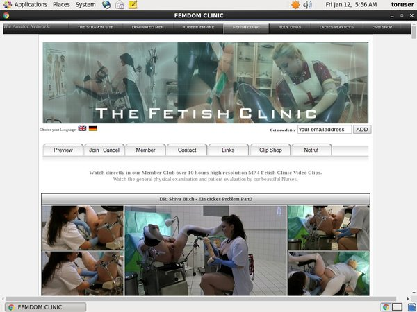 The Fetish Clinic With Paypal
