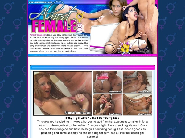 Almostfemale.com Passwords Free