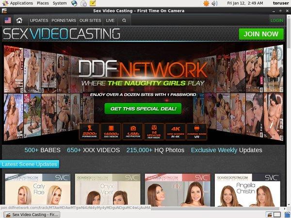 Free Sex Video Casting Passes
