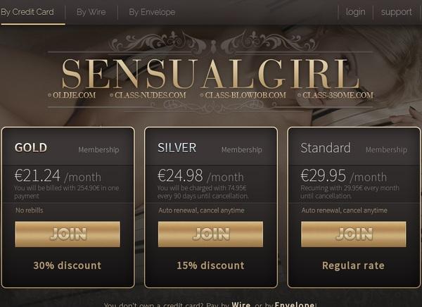Sensualgirl.com 로그인