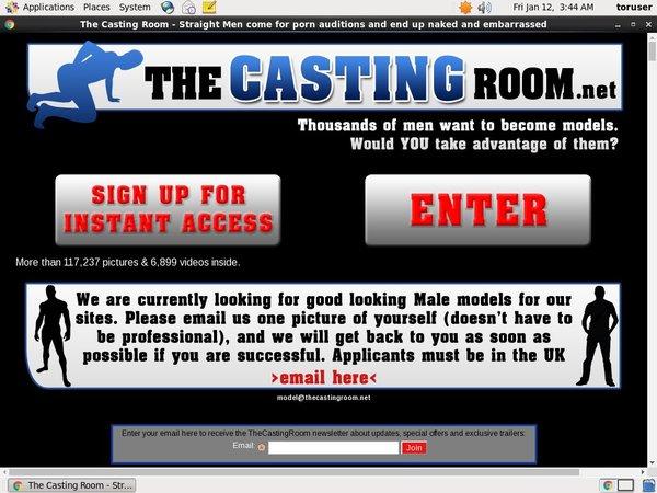 The Casting Room Benutzername