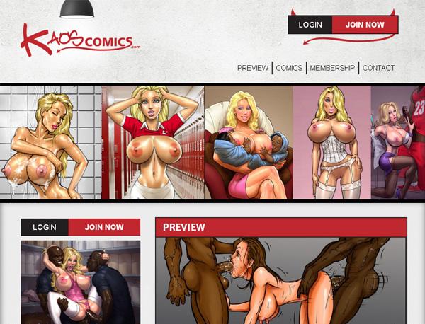 Kaos Comics Free Account Password