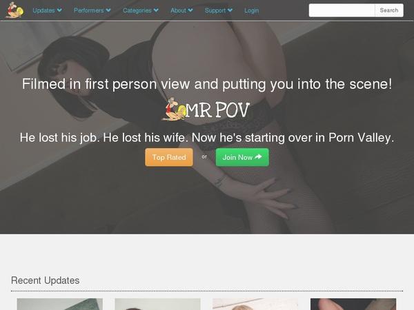 How To Get A Free Mr Pov Account