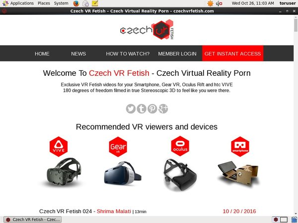 How To Get On Czech VR Fetish For Free