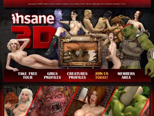Insane 3D Account Logins
